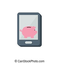 Piggy money savings icon vector illustration graphic design