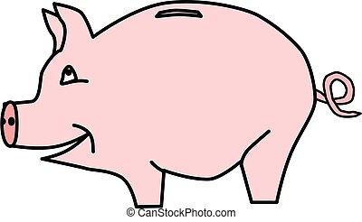 piggybank vector clipart eps images 1 796 piggybank clip art vector rh canstockphoto co uk pink piggy bank clipart piggy bank clipart images