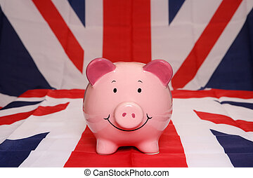 piggybank, great britain