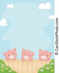Pigs Yard Frame