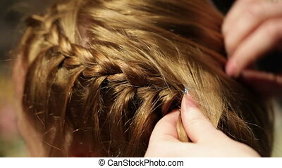 pigtail., coiffeur, marques