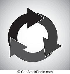 pijl, cirkel
