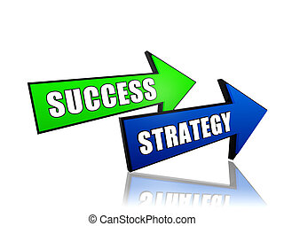 pijl, succes, strategie