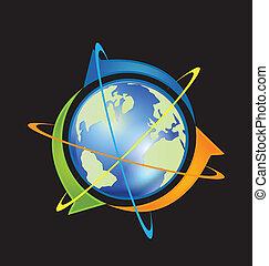 pijl, wereld handel