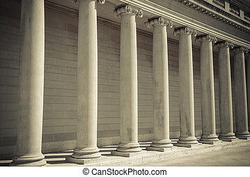 pijlers, justitie, wet