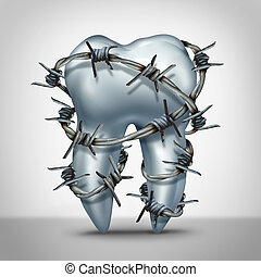 pijn, tand