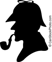 pijp, silhouette, roker