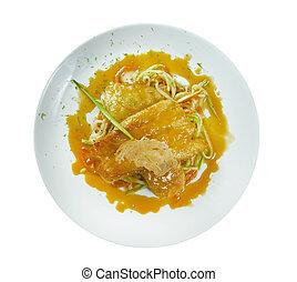 pike-perch, filet