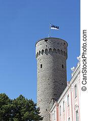 Pikk Hermann tower in Tallinn