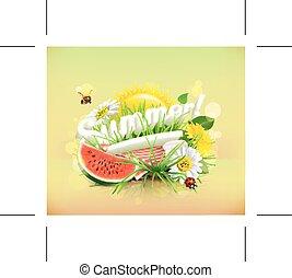 piknik, lato, czas