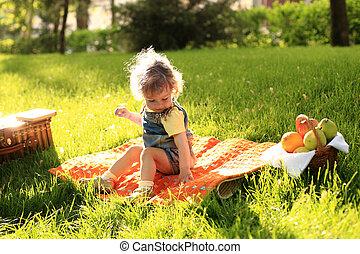 piknik, park