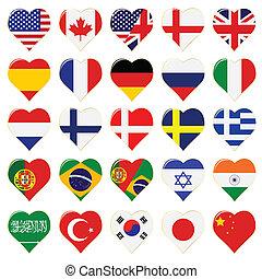 pikolak, świat, bandera
