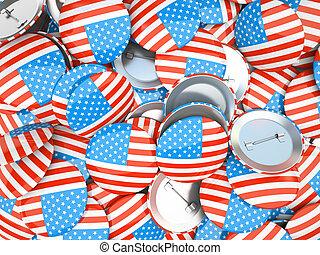 pikolak, amerykańska bandera