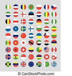 pikolak, bandera