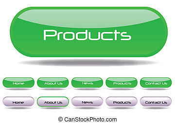 pikolak, sieć, zielony, szablon