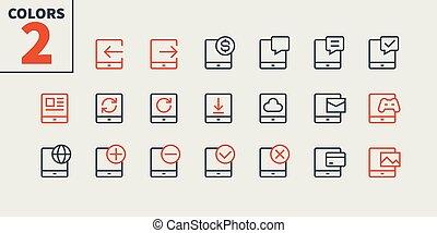 piktogram, prosty, 24x24, stroke., gotowy, doskonały, sieć, 48x48, tabliczka, ikony, apps, well-crafted, pixel, minimalny, 2-3, editable, część, ruszt, grafika, kreska, wektor, ui, cienki