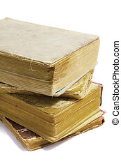 pila, de, libros viejos