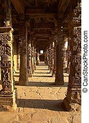 pilares, arenisca