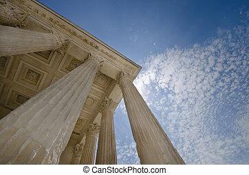 pilares, de, justicia