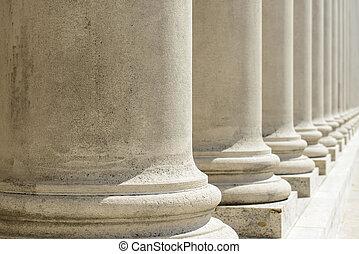 pilares, de, lei, e, justiça