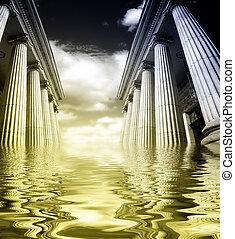 pilares, grego