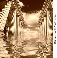 pilares, griego