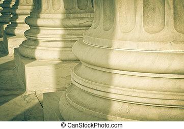 pilares, justicia, ley