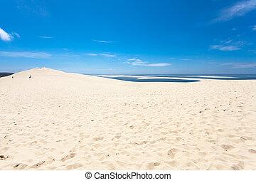 pilat, 砂丘