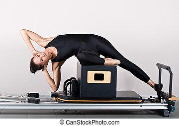 pilates, 体操