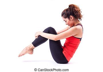 pilates, aktiv