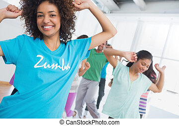 pilates, ejercicio, instructor, clase salud