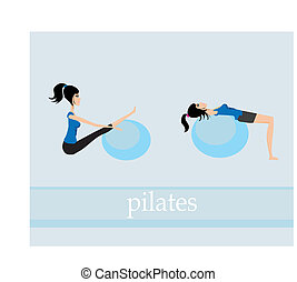 pilates exercise set