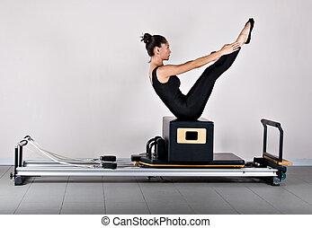 pilates, geräteturnen