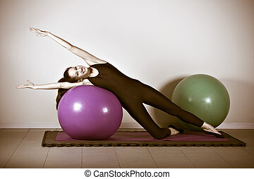 pilates, gymnastique