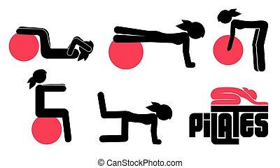 pilates, posen