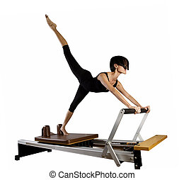 Pilates workout exercises - Pilates reformer workout ...