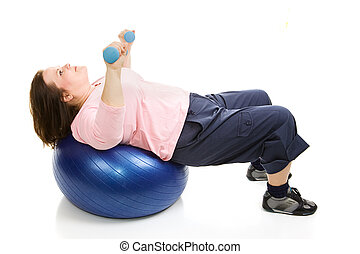 Pilates Workout with Weights