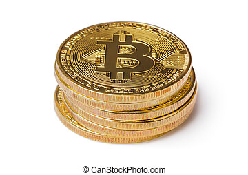 pile, bitcoins