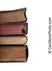 pile, de, vieux livres