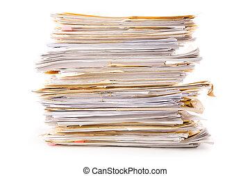 pile, fichier