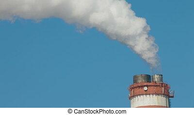 pile fumée