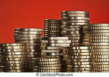 pile monnaies