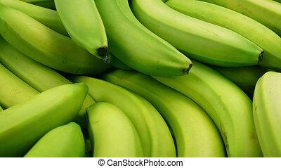 Pile Of Bananas Tracking Shot - Tracking shot moving slowly...