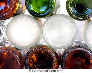 Pile of bottles