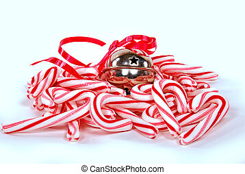 candy canes and bell