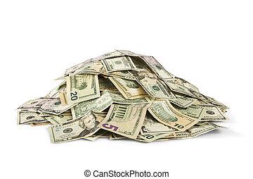 cash - pile of cash