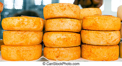 Pile of cheese