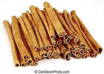Pile of cinnamon - Big pile of spicy cinnamon sticks...