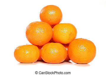 pile of clementines studio cutout
