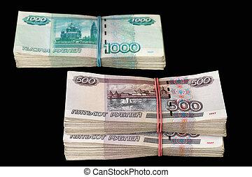 Pile of denominations